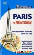 Michelin Map No 57 Paris By Arrondissements Pocket Atlas With Street Map And Index Michelin Guides And Maps French Edition
